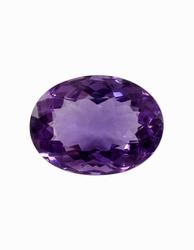 Amethyst Stone Purple Colors Oval Shaped
