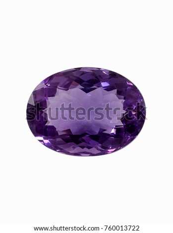 Amethyst Stone Purple Colors Oval Shaped #760013722