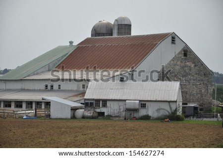 Amish Barn in Lancaster, Pennsylvania