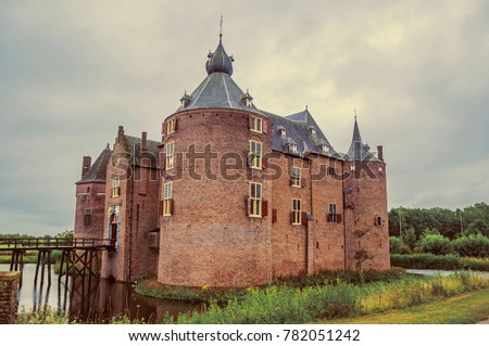 ammersoyen castle with its...
