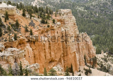 Amphitheater from Inspiration Point , Bryce Canyon National Park, Utah, USA