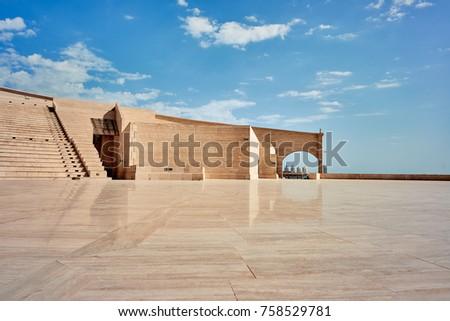 Amphitheater in Katara Cultural Village in Doha, Qatar
