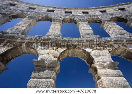 Amphitheater of Pula (Croatia)