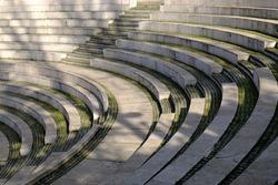 Amphitheatre in Segmenler Park of Ankara, Turkey