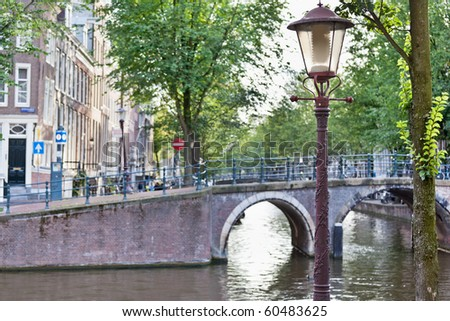 Amsterdam canals #60483625
