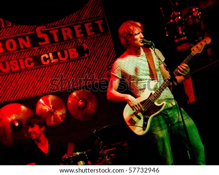 stock photo : AMSTERDAM, NETHERLANDS - JULY 14: Marco Cinelli Trio live at ...