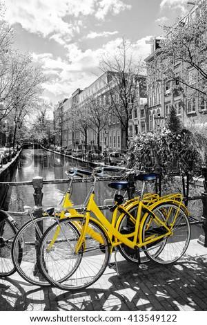 amsterdam street scene....
