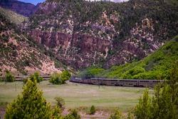 amtrak through the rockies