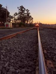 Amtrak Train Coming Head On