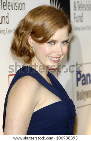 Amy Adams  at the Fourth Annual 'A Fine Romance' Gala to benefit the Motion Picture and Television Fund. Sony Pictures, Culver City, CA. 11-08-08