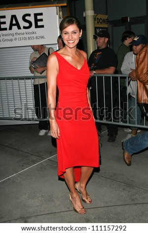 """Amy Brenneman at the premiere of """"The Jane Austen Book Club"""". Arclight Hollywood, Hollywood, CA. 09-20-07"""
