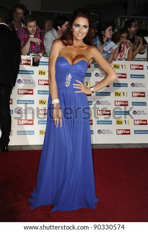 Amy Childs arriving for the 2011 Pride Of Britain Awards, at the Grosvenor House Hotel, London. 04/10/2011 Picture by: Steve Vas / Featureflash