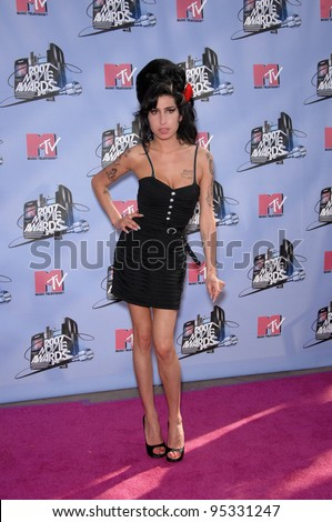 Amy Winehouse at the 2007 MTV Movie Awards at the Universal Amphitheatre. June 3, 2007 Los Angeles, CA Picture: Paul Smith / Featureflash