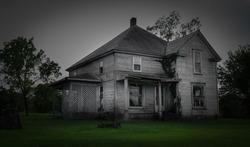 An abandoned home in Joplin, Missouri