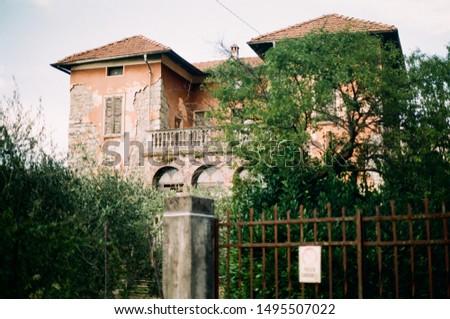"""An abandoned villa, called """"villa dei soprusi"""" #1495507022"""