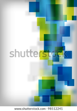 an abstract and colorful background for design - stock photo