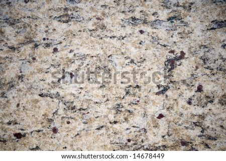 An abstract image of natural looking granite
