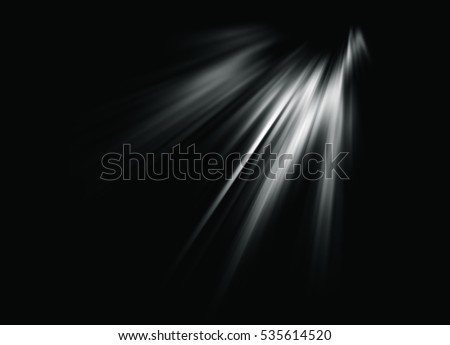 An abstract of Sun rays or flares.
