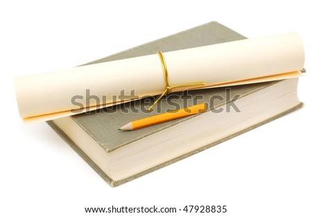 an academic graduation time - stock photo