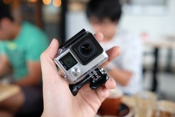 An action camera or action-cam is a digital camera designed for filming action while being immersed in it. Action cameras are therefore typically compact and rugged, and waterproof at surface.