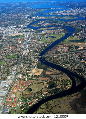 An aerial view of Swan River 2