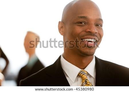 An african american business man