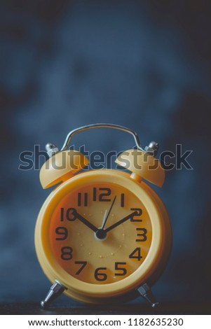 An alarm clock (alarm for short) is a clock that is designed to alert an individual or group of individuals at specified time.