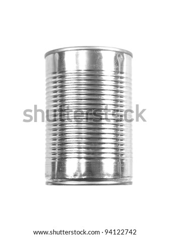 An aluminum can top isolated against a white background