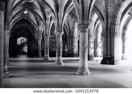 An amazing stroll through Glasgow university