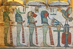An ancient Egyptian painting