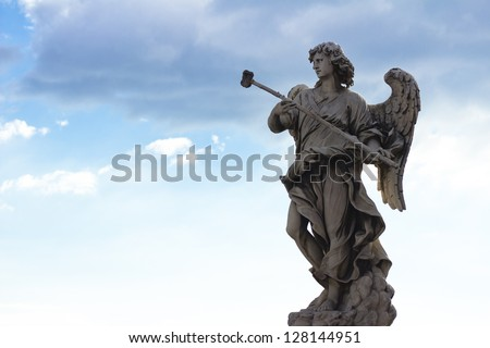 An angel from Sant'Angelo - Rome, Italy.