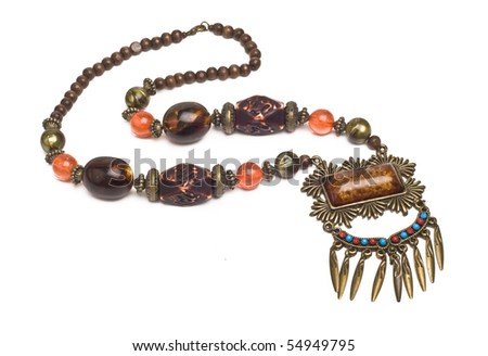 An antique, arabic necklace