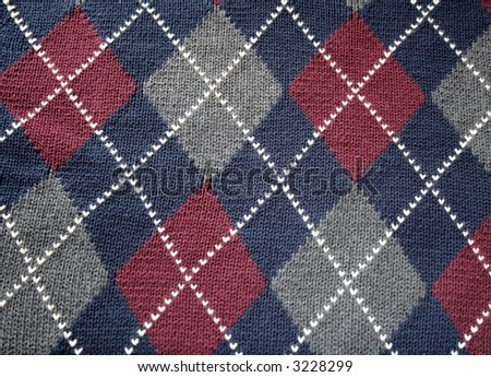 Argyle Free Knitting Pattern Sweater – Catalog of Patterns