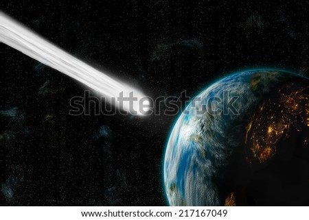 An Artist'S Depiction Of An Inhabited Earth-Like Planet ...