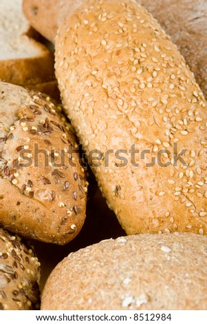An assortment of bread