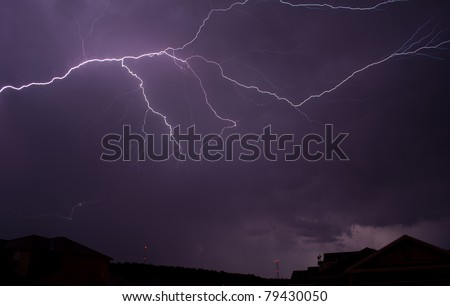 An awe inspiring lightning show lit up northwest Arkansas late on June 14th into the early morning hours on June 15th.