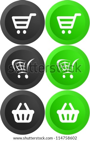 An ecommerce button isolated against a white background