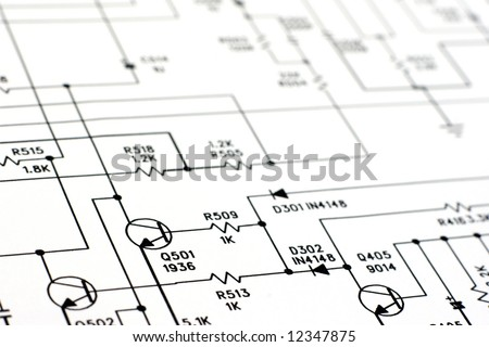 free photos electronic components on a schematic diagram background