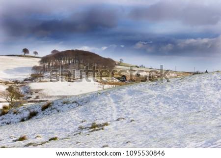 An English Snow Scene