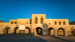 An entrance of Historical Old Al-Uqair port in Saudi Arabia.