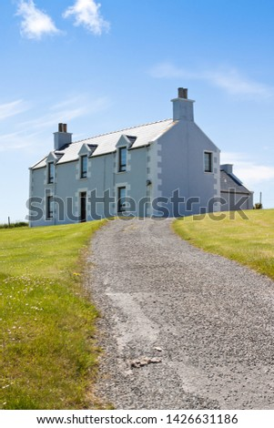 An idyllic country house in the country. #1426631186