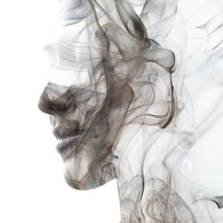 An illusory and dreamy feeling created by swirls of smoke