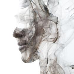 An illusory and dreamy feeling created by swirls of smoke