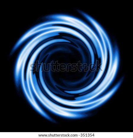 An illustration of a swirl pattern