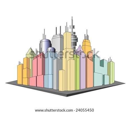 An illustration of Cityscape