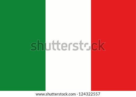 An illustration of the flag of Italy