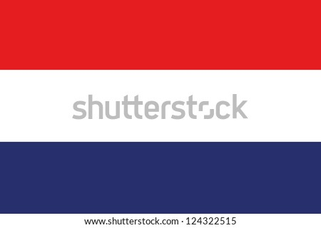 An illustration of the flag of Netherlands
