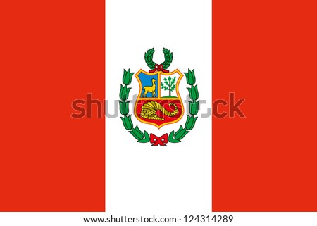 An illustration of the flag of Peru