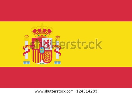 An illustration of the flag of Spain