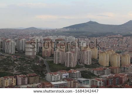 An image from Turkey's capital Ankara Stok fotoğraf ©